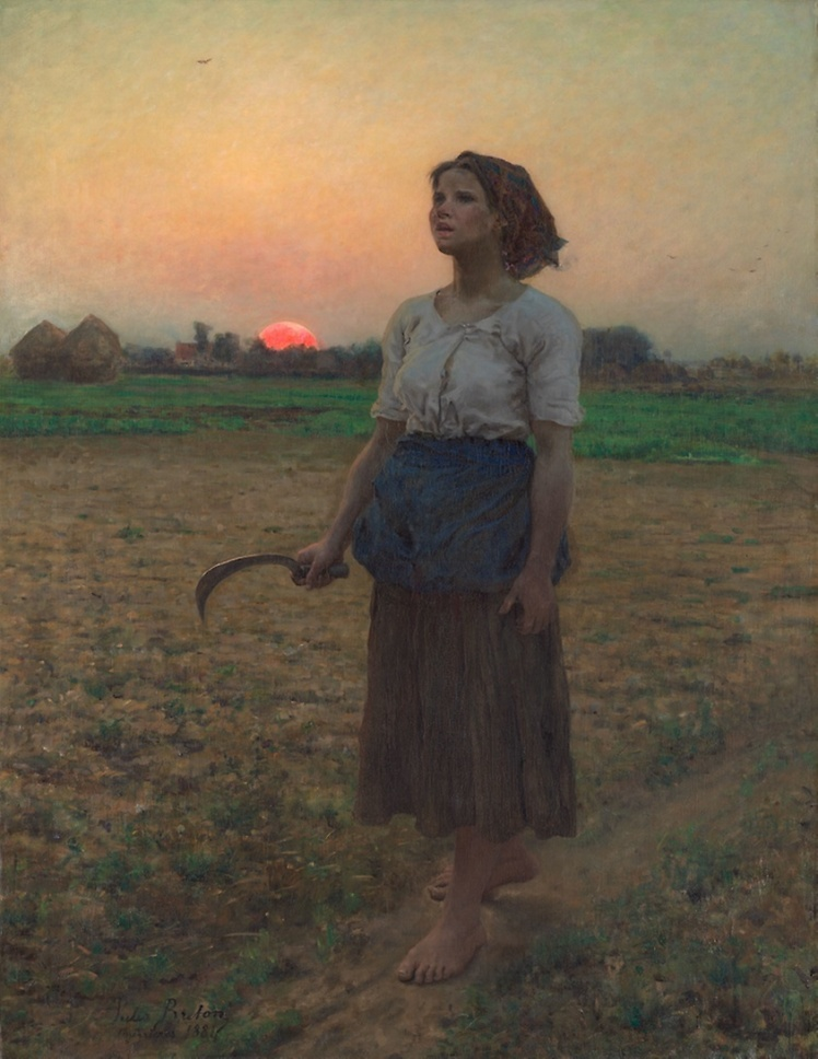 Jules Adolphe Breton Son of the lark