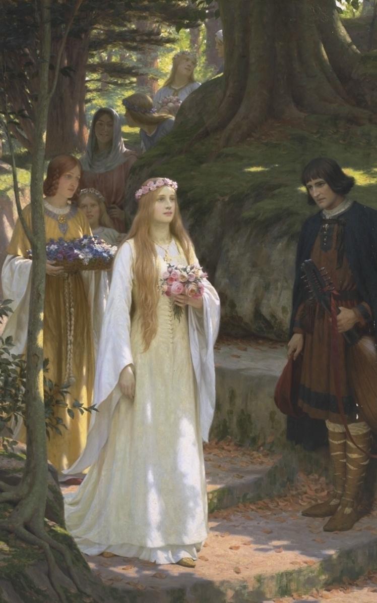 Edmund_Blair_Leighton_-_My_fair_Lady
