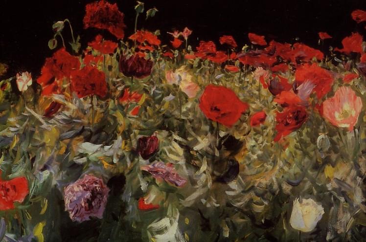 poppies-1886 john singer sargent